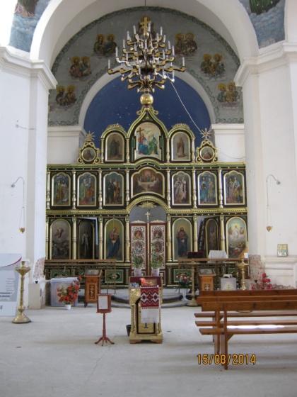 Cerkiew - wnętrze