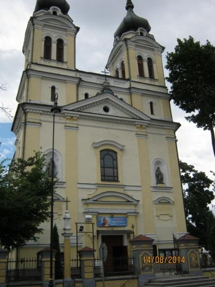 Kościół pw. Trójcy Świętej i Wniebowzięcia NMP w Biłgoraju