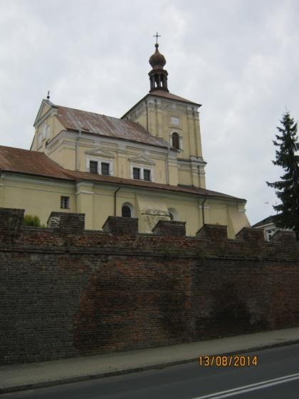 Szczebrzeszyn - kościół pw. św. Katarzyny